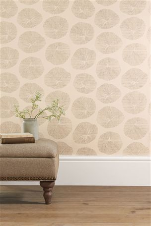 Buy Fossil Orange Wallpaper from the Next UK online shop