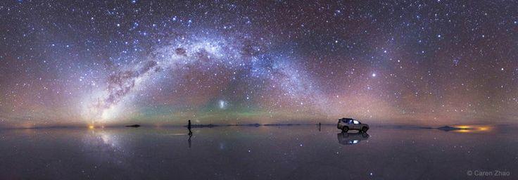 Zwycięzcy Earth & Sky Photo Contest 2015, nocne zdjęcia krajobrazów - Podróże