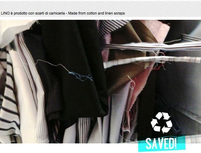 LINO - Made from cotton and linen scraps. aqaupotabile.com