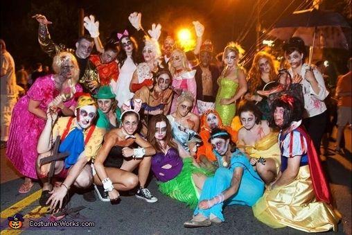 disney zombie group costume disney halloween costumes