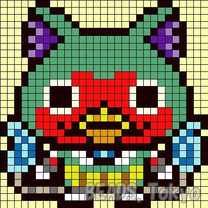 Yokai Watch Pixel Art Gamboahinestrosa
