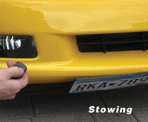 2005-2013 Corvette C6 Powered Show N Go License Plate Bracket