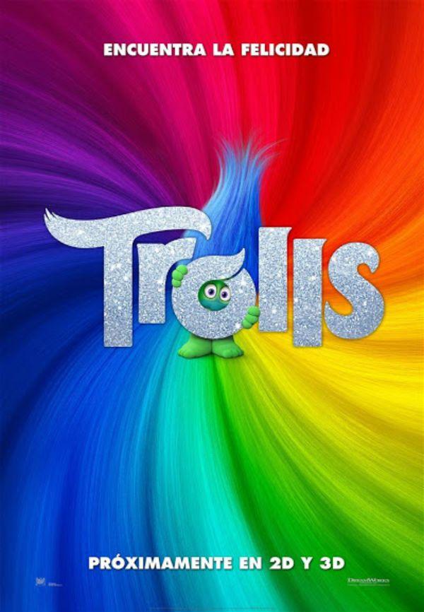 Noticias de cine y series: Trolls: Tráiler y póster en español de la película basada en los famosos muñecos