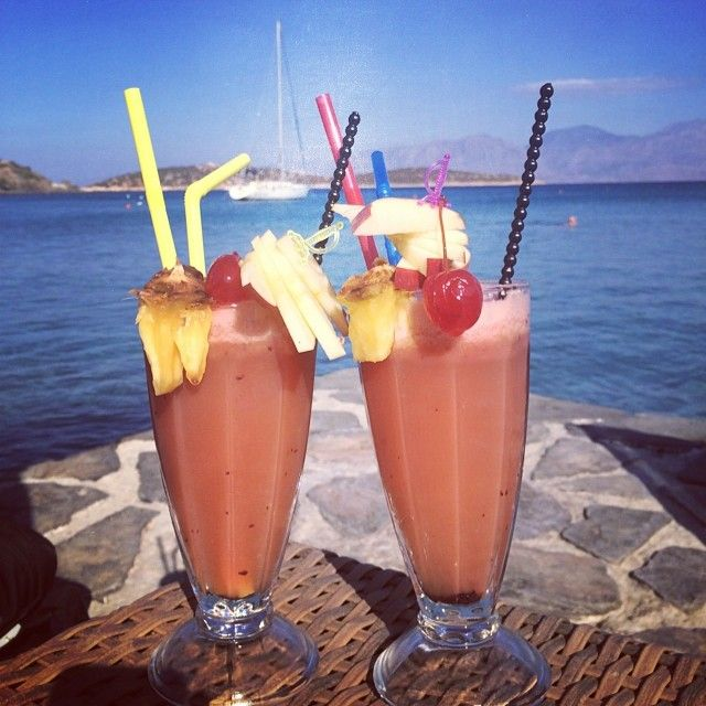 #Cocktails #MinosBeach #Crete Photo credits: @mediamarmalade