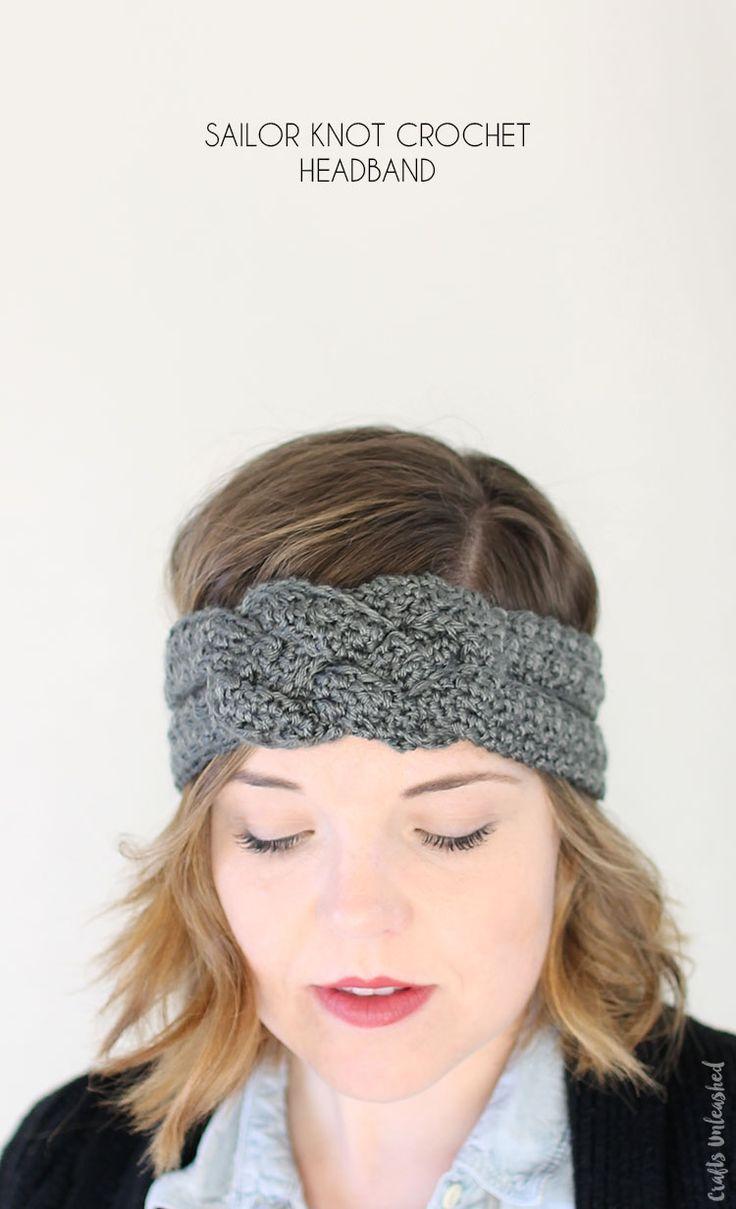 Sailor Knot Crochet Headband By Alexis - Free Crochet Pattern - (blog.consumercrafts)