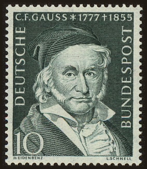 the life and domination of german mathematician carl friedrich gauss Johann carl friedrich gauss (april 30, 1777 - february 23, 1855) was a german mathematician who made significant contributions to a variety of fields these include.