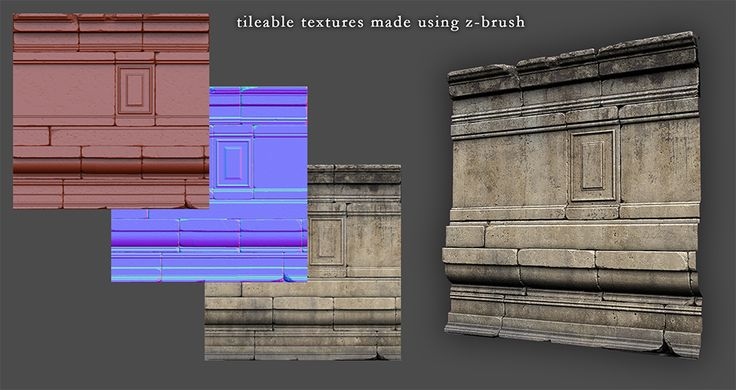 papibeast | Tileable Texture made using zbrush
