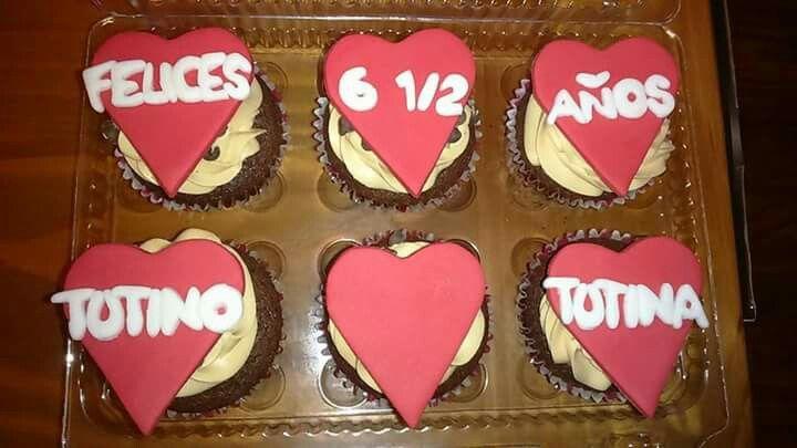 Cupcakes personalizados Tutino <3 Tutina