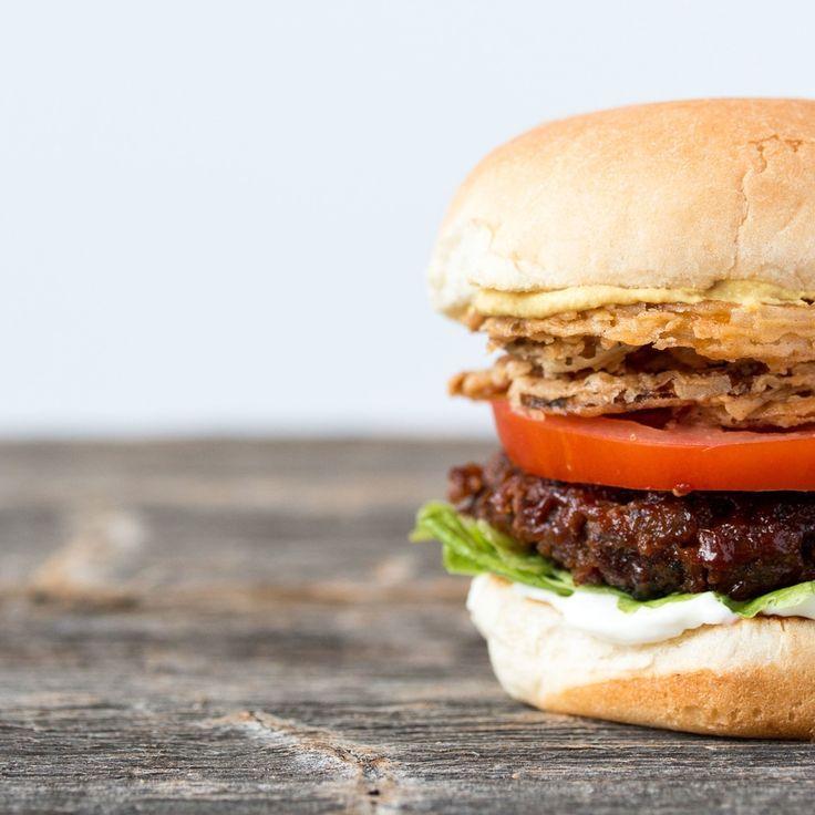 the best damn (vegan) burger