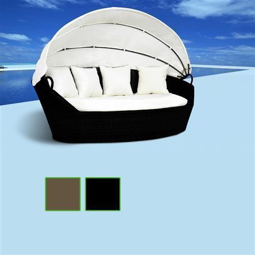 pi di 25 fantastiche idee su sonneninsel rattan su. Black Bedroom Furniture Sets. Home Design Ideas