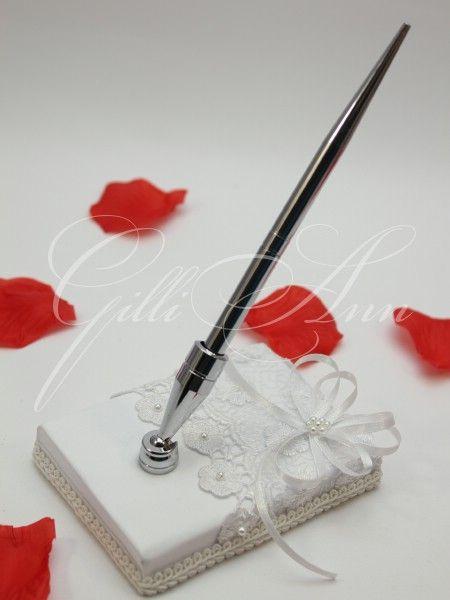 Свадебная ручка с подставкой Gilliann Isabella PEN009, http://www.wedstyle.su/katalog/anniversaries/wedding-pen/svadebnaja-ruchka-s-podstavkoj-gilliann-3949, http://www.wedstyle.su/katalog/anniversaries/wedding-pen, wedding pen