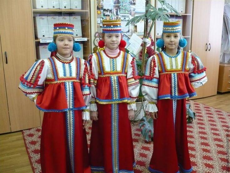 Эстонский детский танцевальный костюм