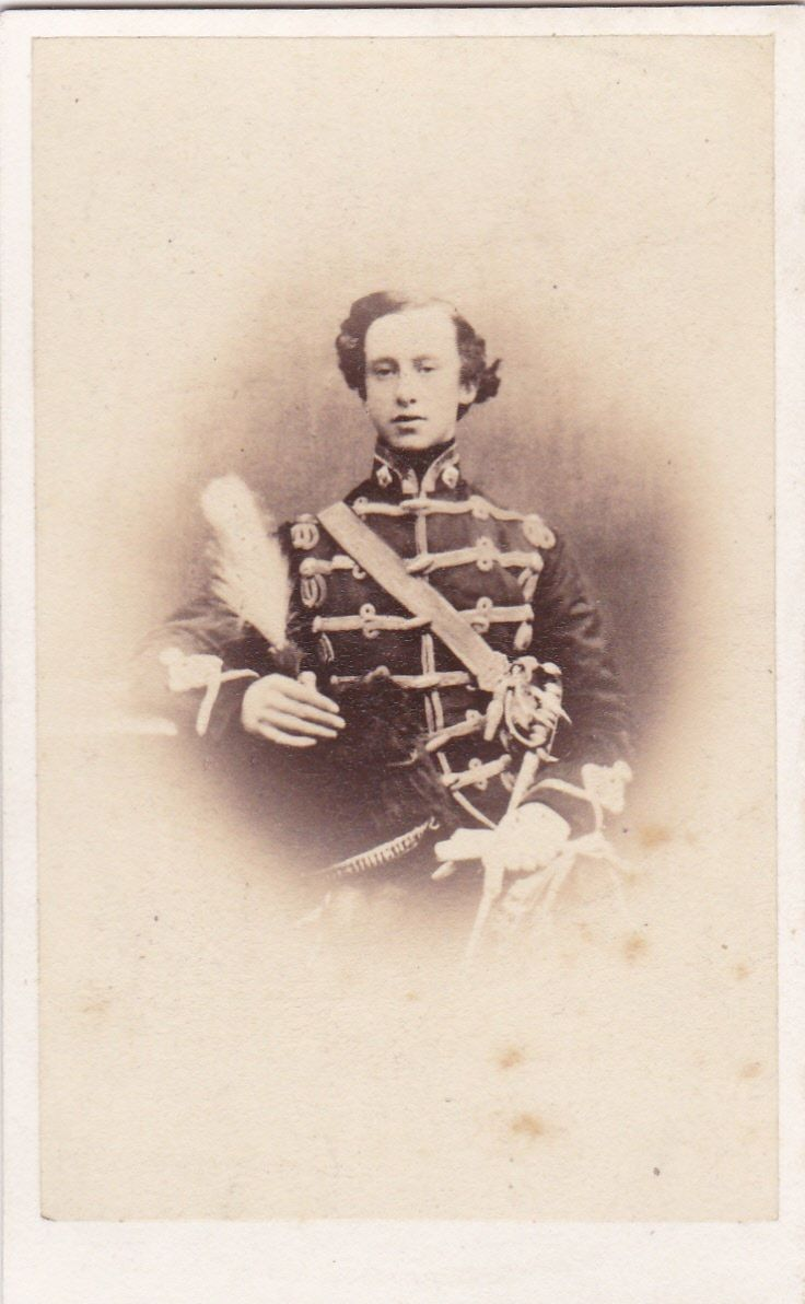 Studio CdV - T Cranfield, Grafton Street, Dublin (un-named young officer)