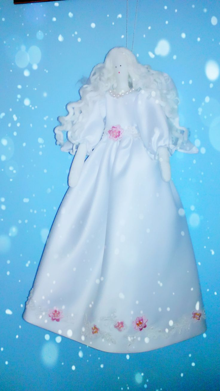anioł z tkaniny
