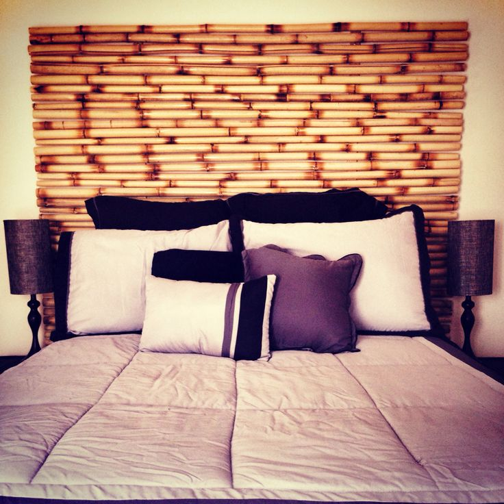 how to make bamboo headboard 3