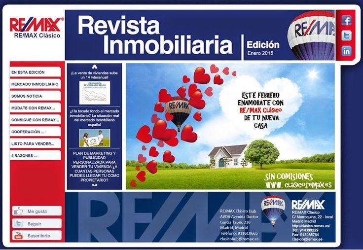 Ya esta activa nuestra NEWSLETTER de RE/MAX Clásico ! No dejes de leer las ultimas noticias del sector #inmobiliario : http://rem.ax/1LD2mN6   #REMAXClásico   #ServiciosInmobiliarios   #Madrid