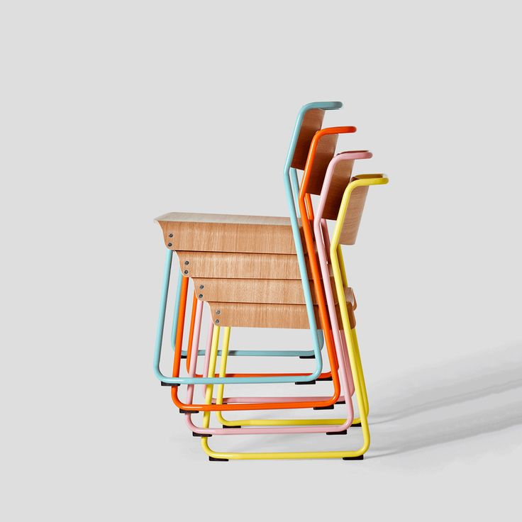 Very Good & Proper ///  Canteen utility chairs