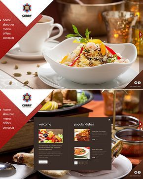 Template 45259 - Curry Indian Website Template