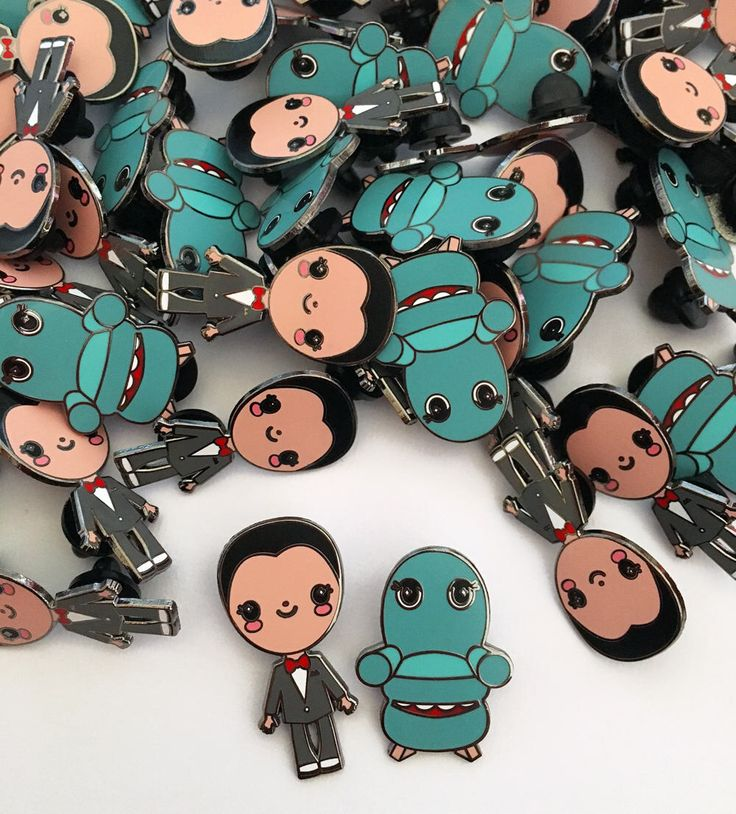 Pee Wee Herman & Chairry Enamel Pin by emandsprout on Etsy https://www.etsy.com/listing/528684983/pee-wee-herman-chairry-enamel-pin