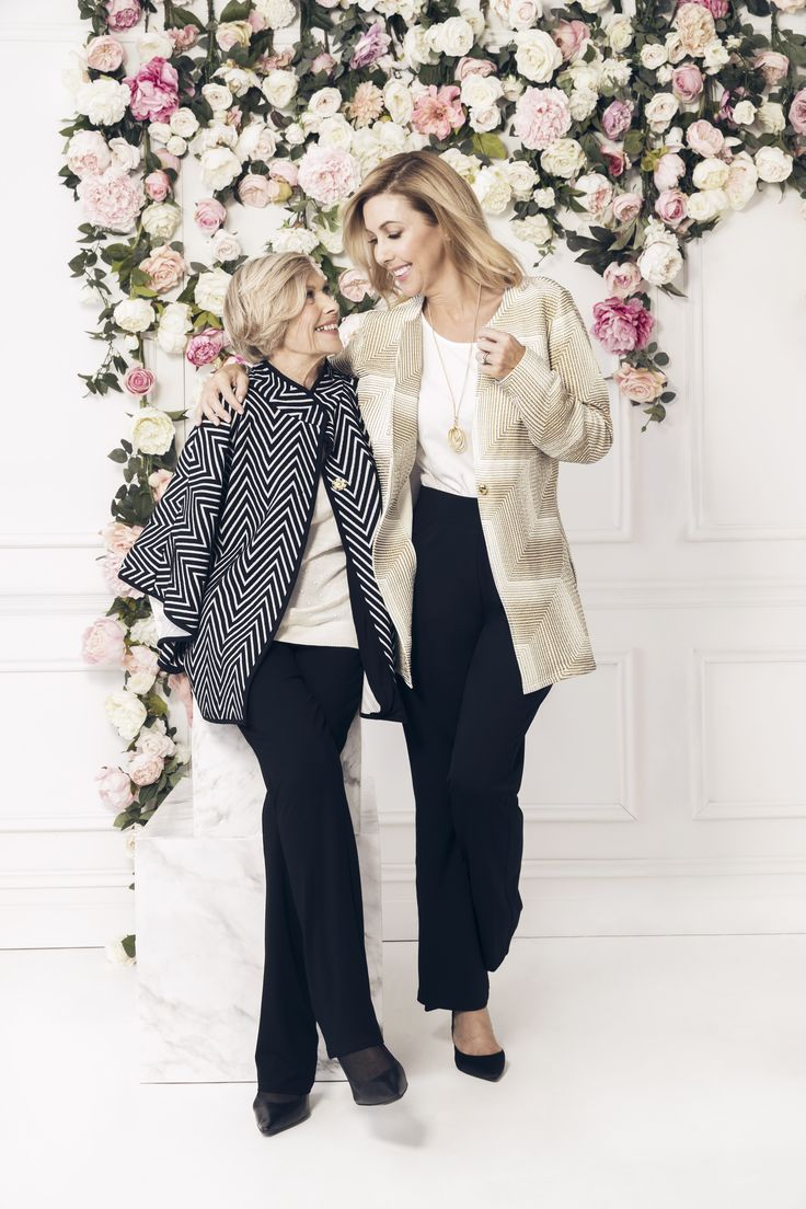 Catriona and Heather Rowntree showcase the latest Liz Jordan ESCAPE luxury travel collection - just in time for Mother's Day!