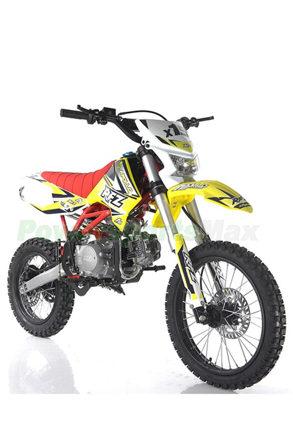 Db G018 Apollo Db X19 125cc Dirt Bike With Headlight 4 Speed
