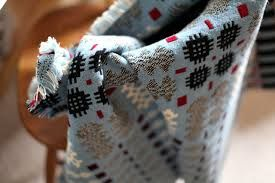 welsh blankets -gorgeous colours