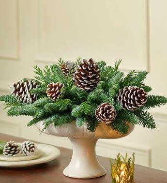 Christmas Weddings Centerpiece   Christmas Wreaths and Centerpieces, - options for wedding centerpieces