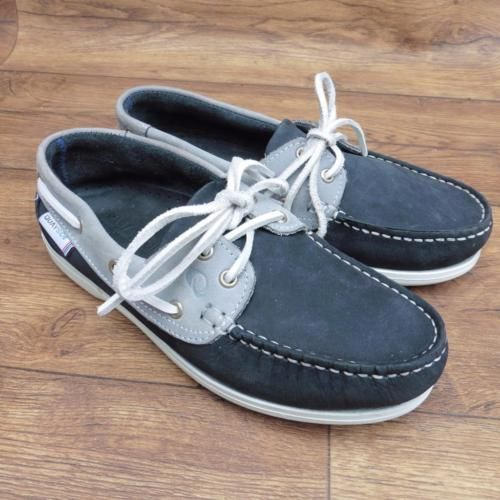 SIZE-UK-4-QUAYSIDE-BERMUDA-NAVY-GLACIER-WASHABLE-DECK-SHOES-SAILING-SHOES