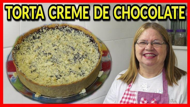 TORTA CREME DE CHOCOLATE - Blog Das Receitas