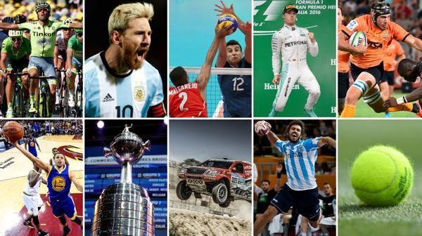 El calendario deportivo del 2017 - Infobae