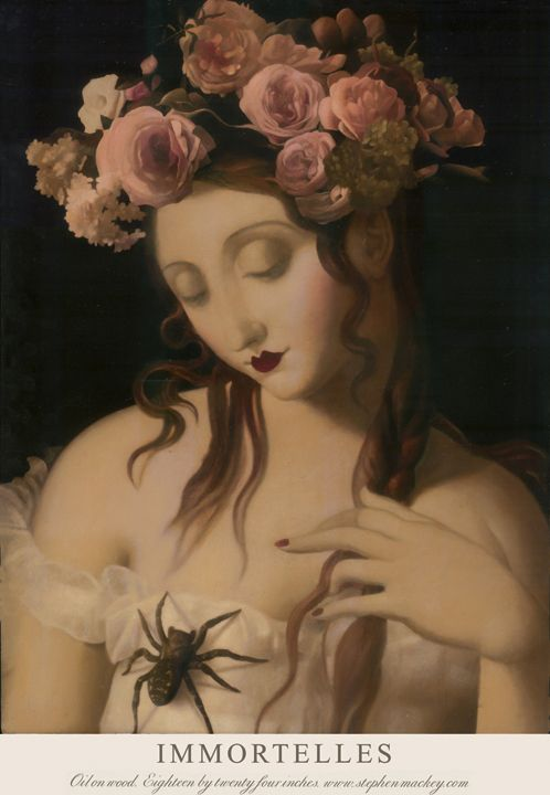 I love Mackey's works.  They're strangely disturbing but one can't look away.  stephenmackey: Immortelles by Stephen Mackey