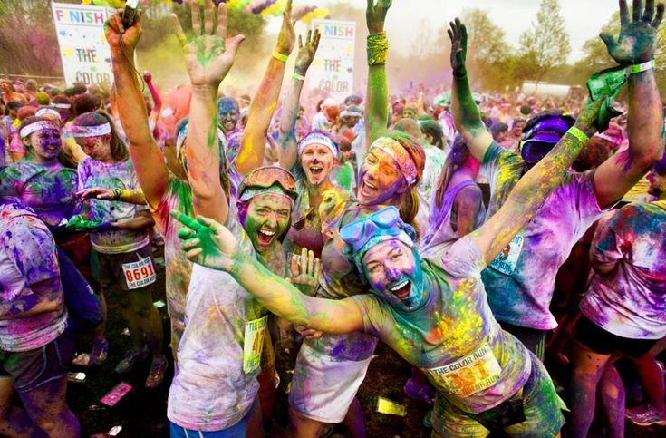 10 Tips To Get Ready For a Color Run. | Ben Greenfield Fitness