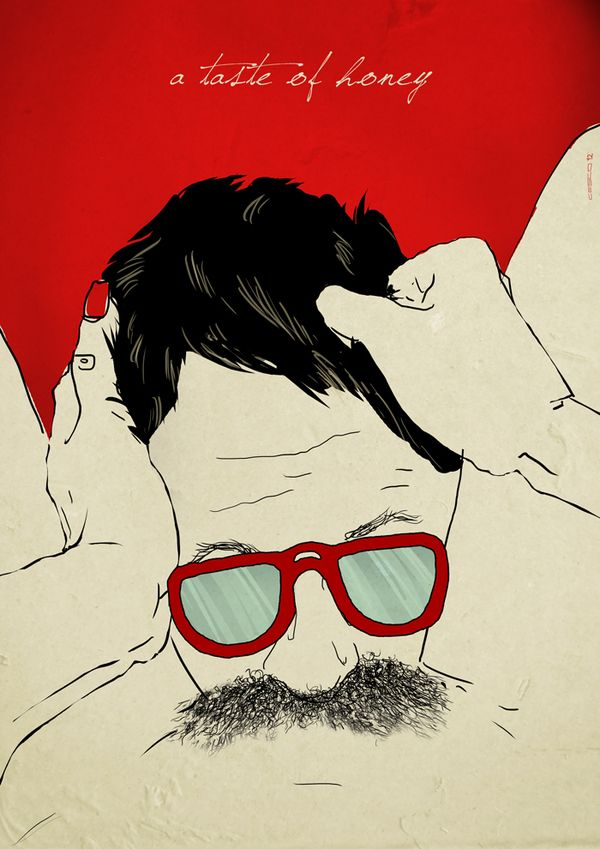 The Weird Love // Posters series (in progress) by FRANCESCO TORTORELLA, via Behance