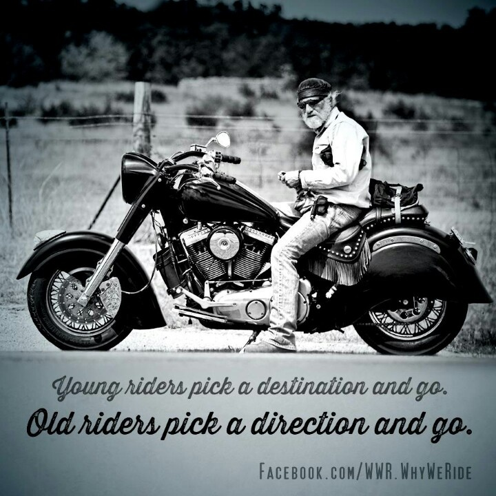 Bikers..words of wisdom..;) Harley Davidson Pinterest