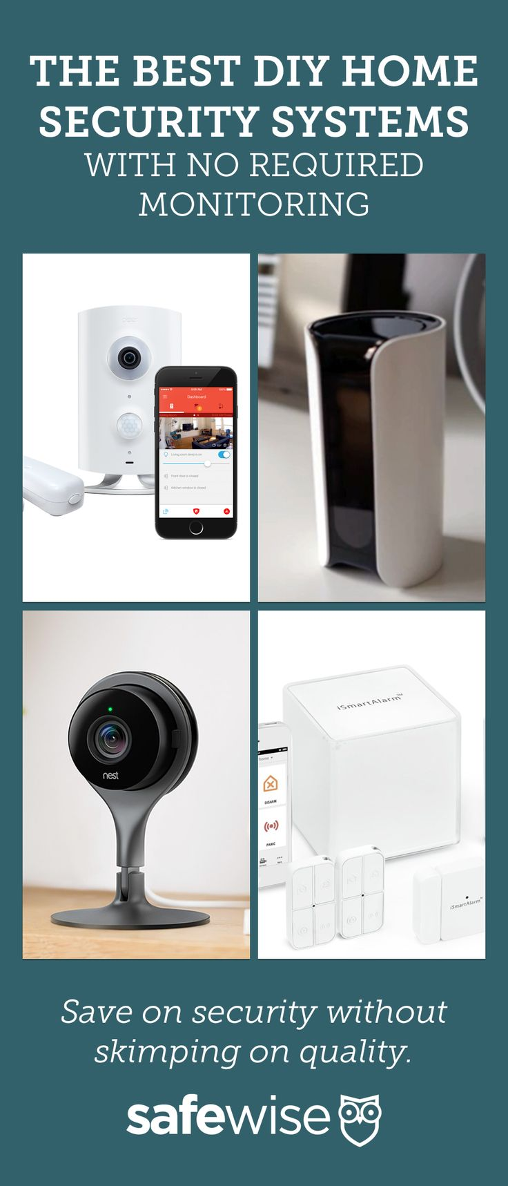 79 best diy home security images on pinterest diy home security the 5 best affordable diy home security systems of 2017 solutioingenieria Choice Image