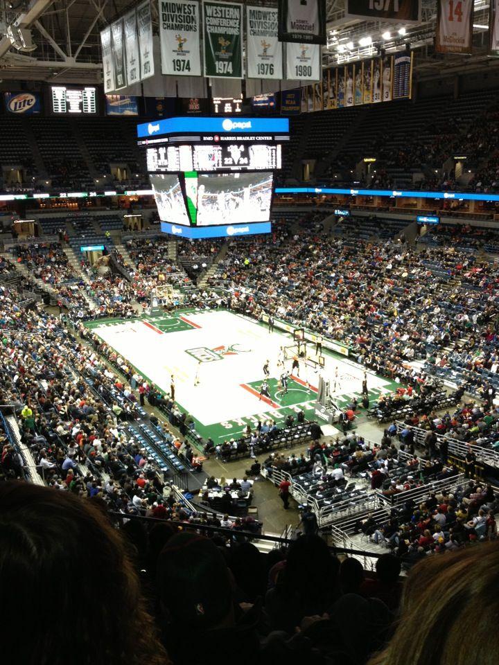 BMO Harris Bradley Center Home of the Milwaukee Bucks