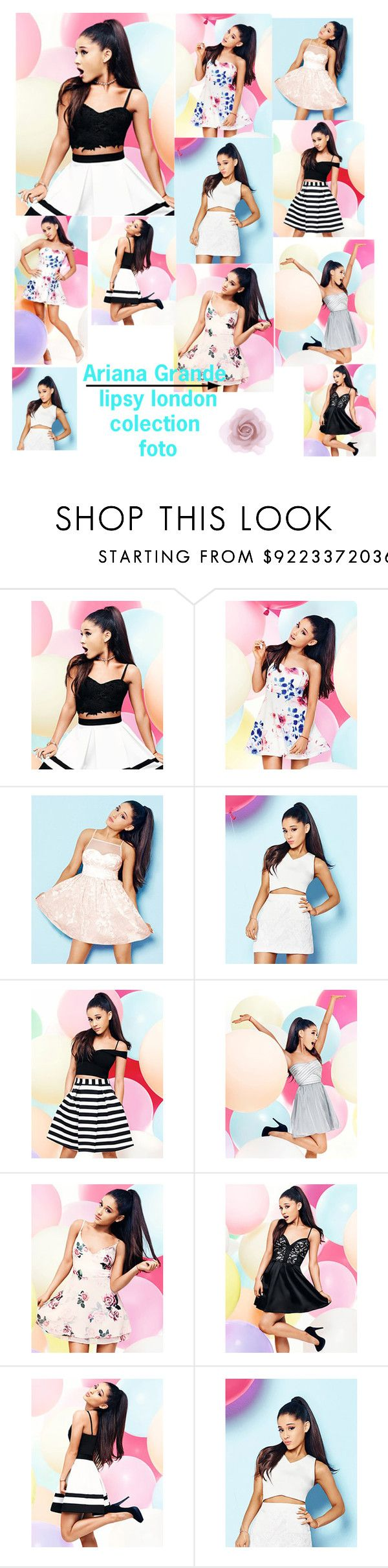 """""""Ariana Grande lipsy london"""" by ariana78 ❤ liked on Polyvore featuring beauty, Lipsy and Accessorize"""