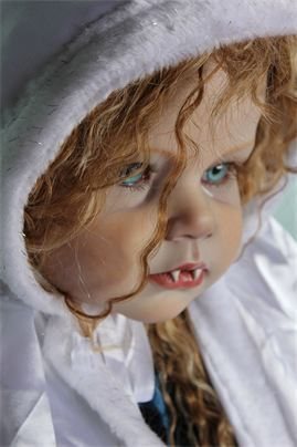 The Twisted Bean Stalk Nursery - Creepy Vampire & Zombie lifelike baby dolls