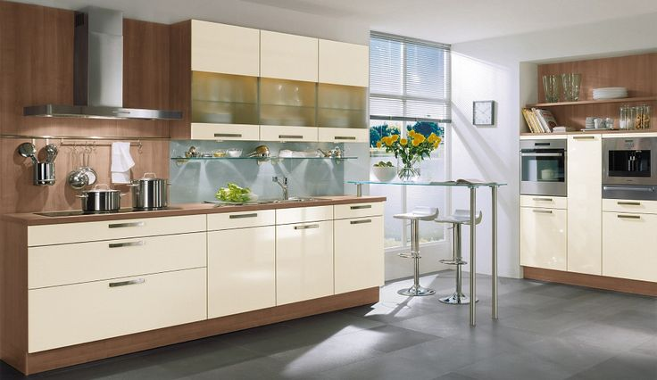 Küche in Creme von Nobilia   Kitchen in beige by Nobilia Kitchen
