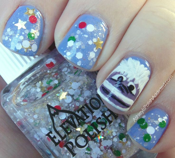 Snowman Nail Art Tutorial: 17 Best Images About Abominable Snowman On Pinterest
