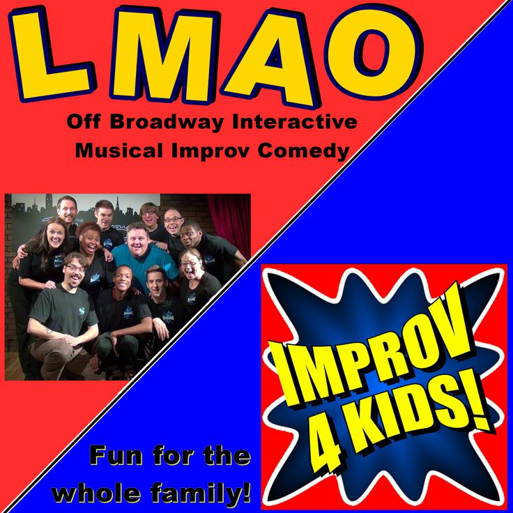3 & 8pm Friday, Saturday Sunday for the whole family at the #Broadway #Comedy #CLub $5 tickets at https://web.ovationtix.com/trs/pr/927893/prm/walter101