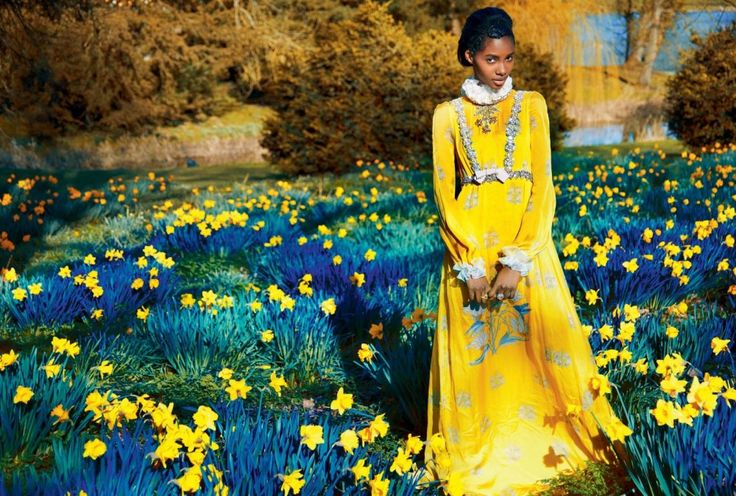 "Harper's Bazaar UK June 2017 in the editorial ""A New Eden""  model: Tami Williams   ph: Erik Madigan Heck"