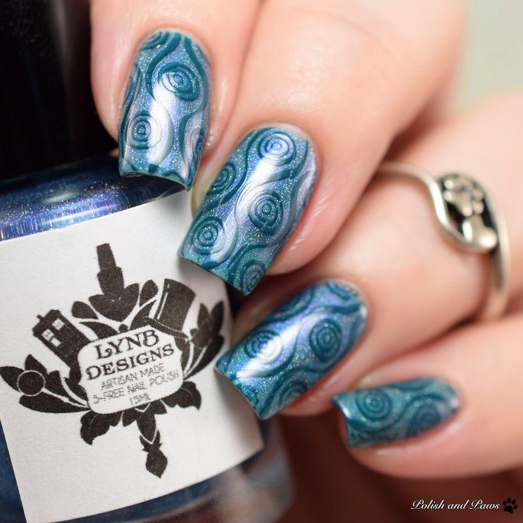 Lina Stamping Plates Nail Art