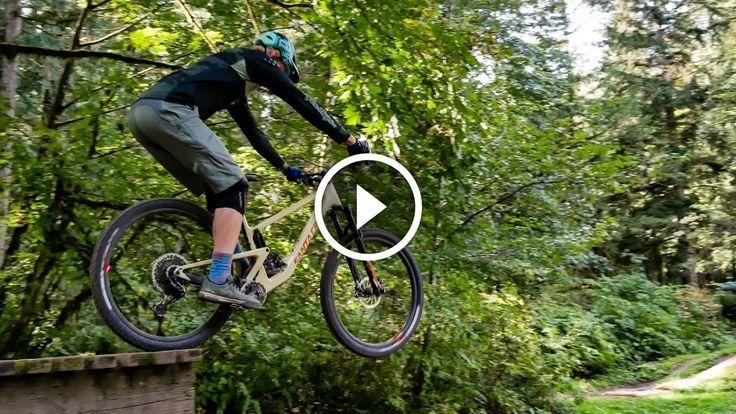 Watch How To Hit Drops With Simon Lawton Mountain Bike Skills Mountain Biking Bike Bike News