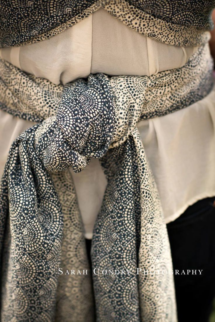 Woven Wings Lace Blue Mallow Tea Wrap (silk) Image