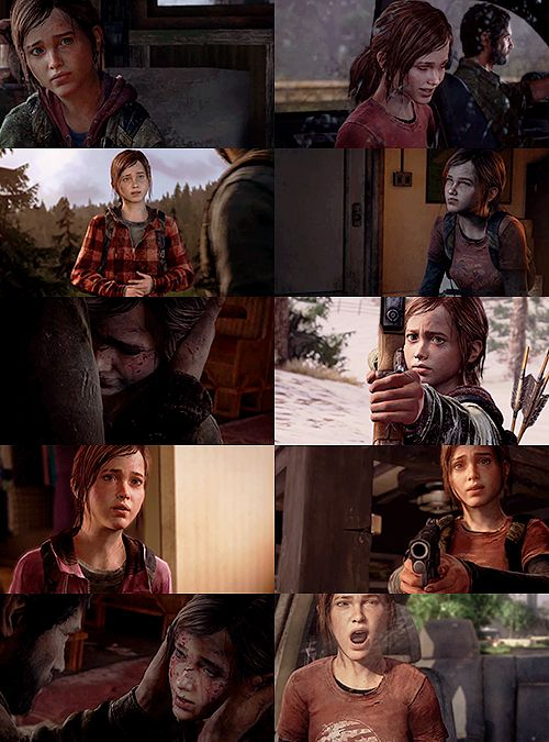 My favorite character of of the last of us