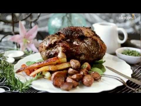 Recette pour faire un merveilleux gigot d'agneau au four