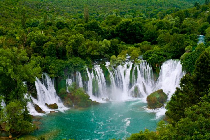 Paradise on earth - Kravice waterfall in Bosnia Hercegovina