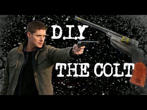 DIY: THE COLT (SUPERNATURAL) - FÁCIL/EASY