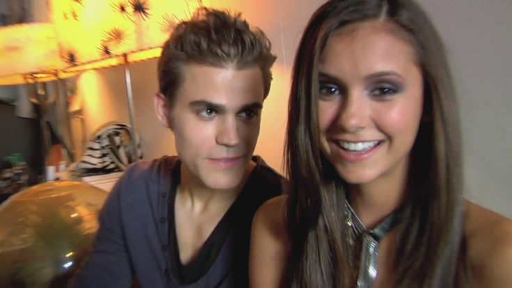 nina dobrev WITH PAUL PHOTOS | Paul Wesley and Nina Dobrev Nylon Photoshoot - Behind the Scenes
